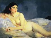 "Роберт Генри (Robert Henri) ""Betalo Nude before"""