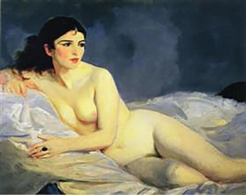 "Роберт Генри (Robert Henri) ""Betalo Nude"""