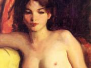 "Роберт Генри (Robert Henri) ""Portrait of Doris Trautman"""