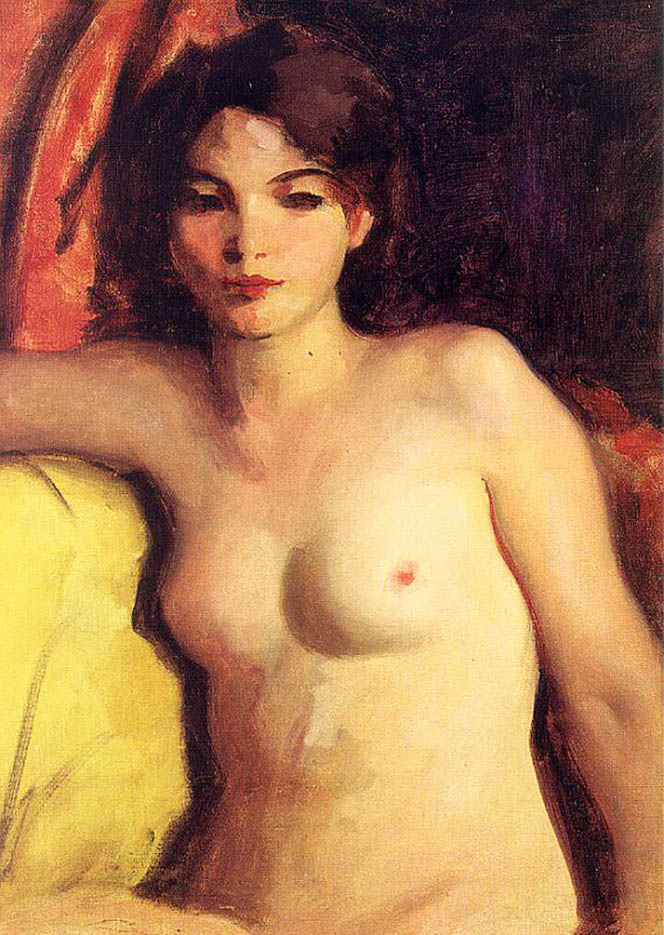 "Роберт Генри (Robert Henri) ""Portrait of Doris Trautman"""