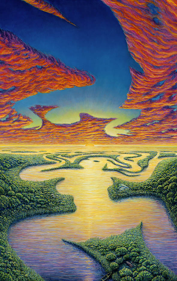 "Марк Хенсон (Mark Henson), ""Riverine Reverie"""