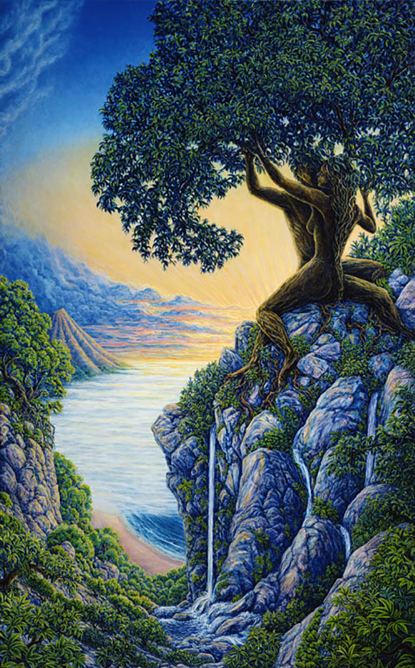 "Марк Хенсон (Mark Henson), ""Arboreal Affection"""