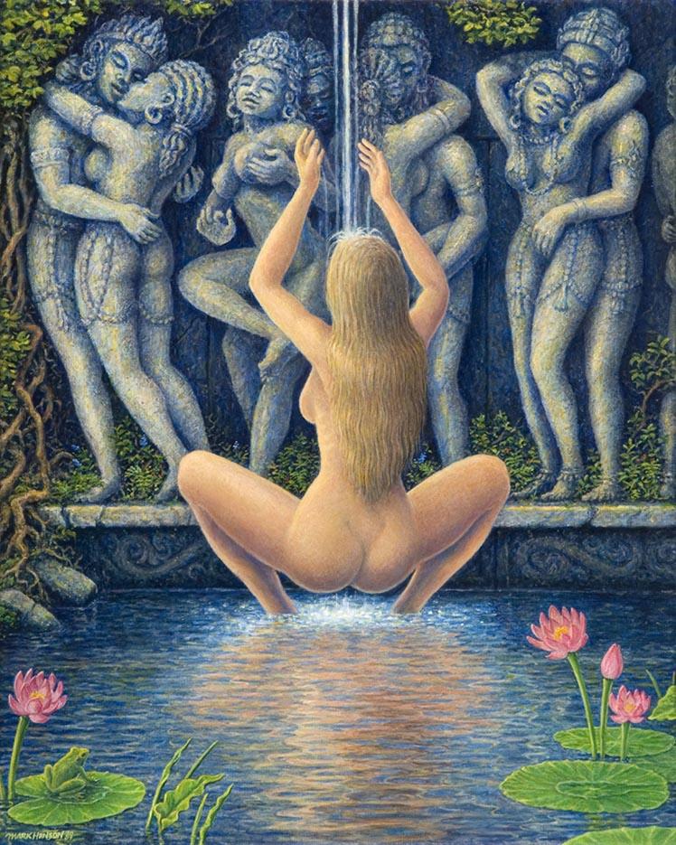 "Марк Хенсон (Mark Henson), ""Lotus Pond"""