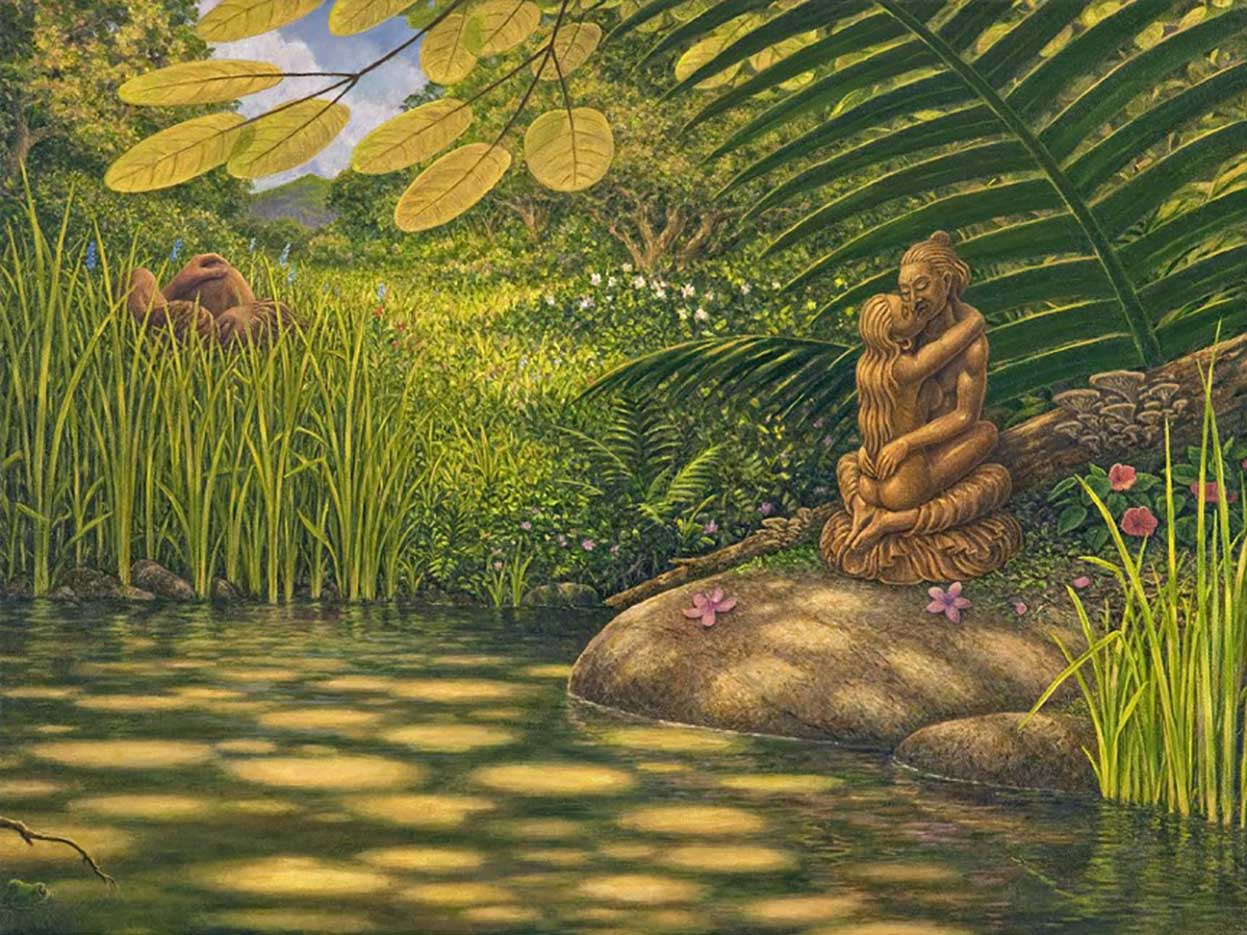 "Марк Хенсон (Mark Henson), ""Under The Yab Yum Tree"""
