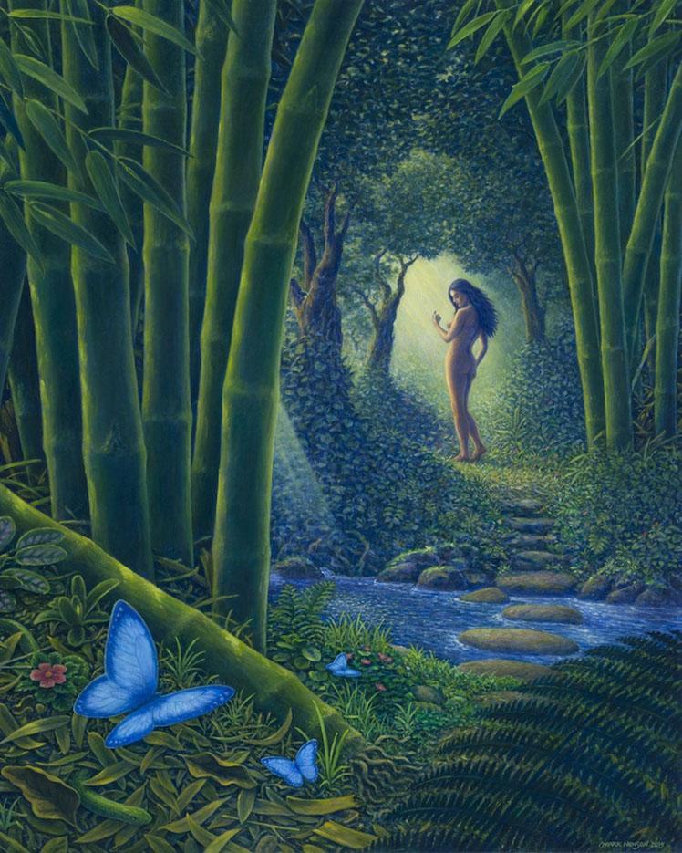 "Марк Хенсон (Mark Henson), ""Bamboo Forest"""
