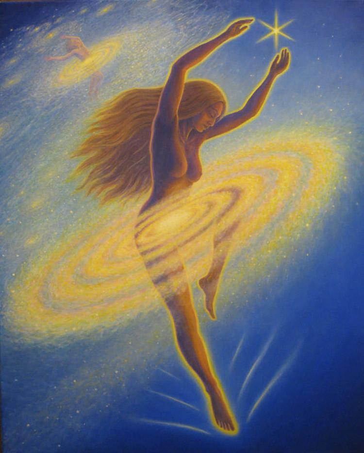 "Марк Хенсон (Mark Henson), ""Dancing Across the Universe"""