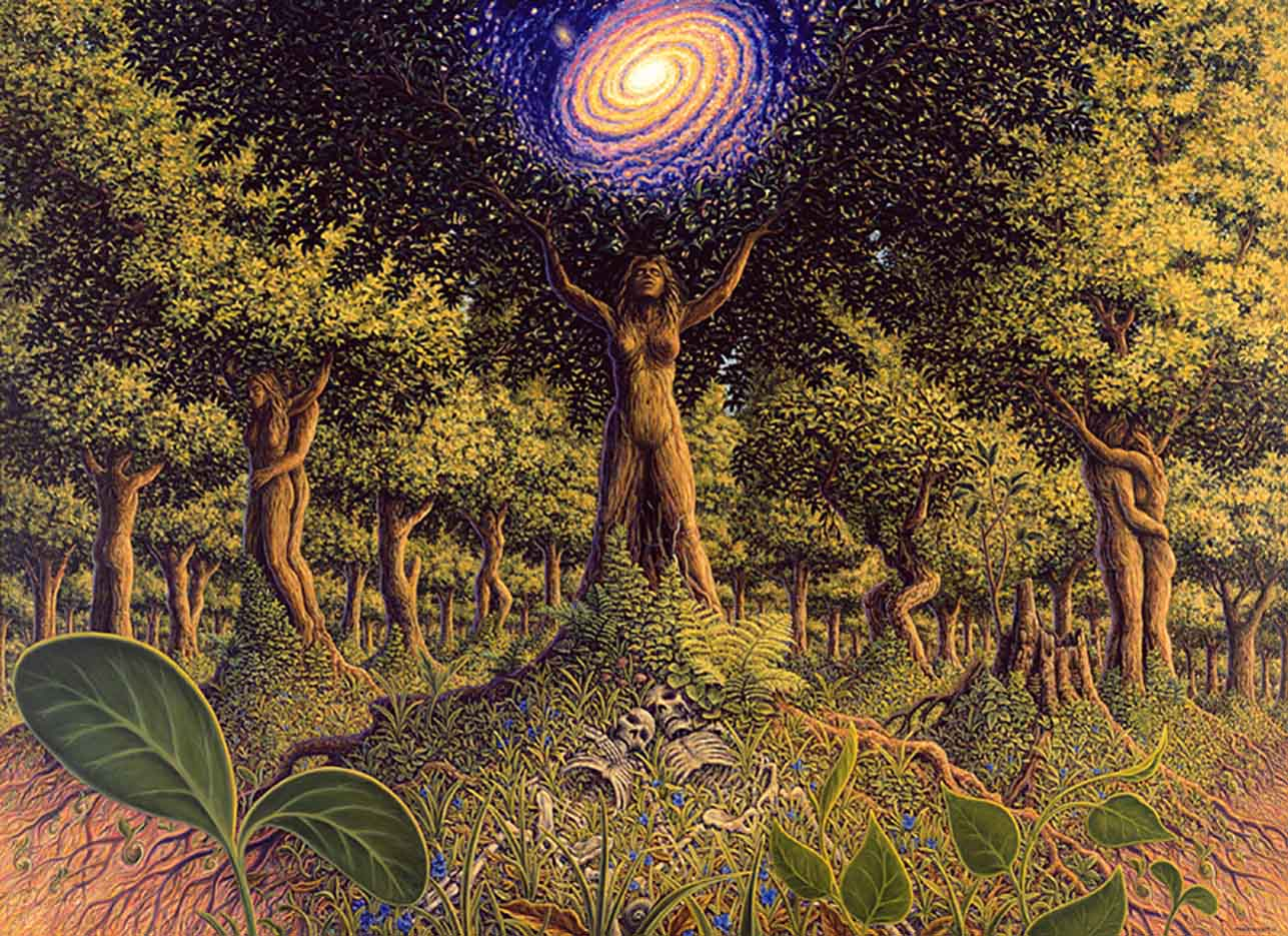 "Марк Хенсон (Mark Henson), ""Tree Incarnation"""