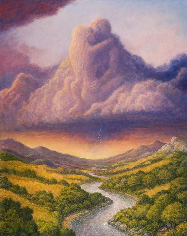 """Марк Хенсон (Mark Henson), """"Clouds and Rain"""""""