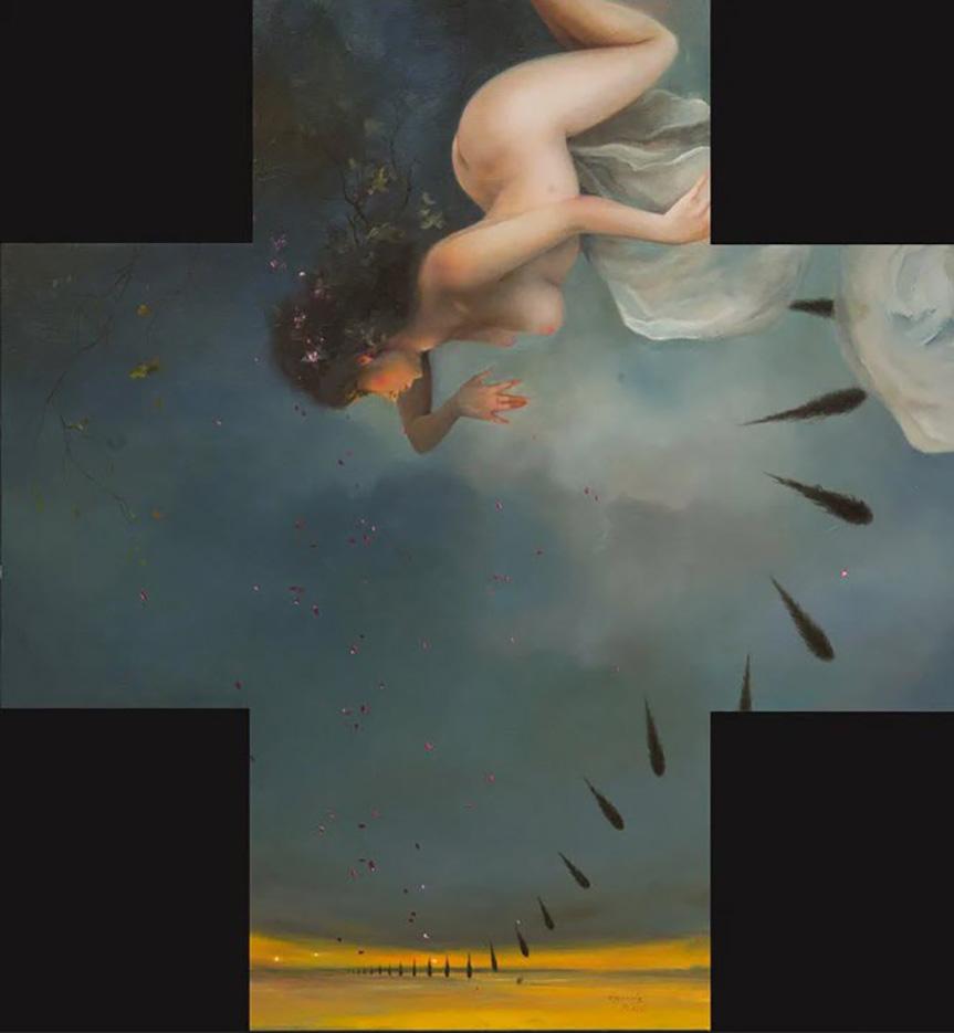 """Ким Эреу (Quim Hereu) """"The painter's muse"""""""
