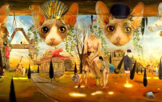 "Ким Эреу (Quim Hereu) ""Cat Bornaix's impossible theorem"""