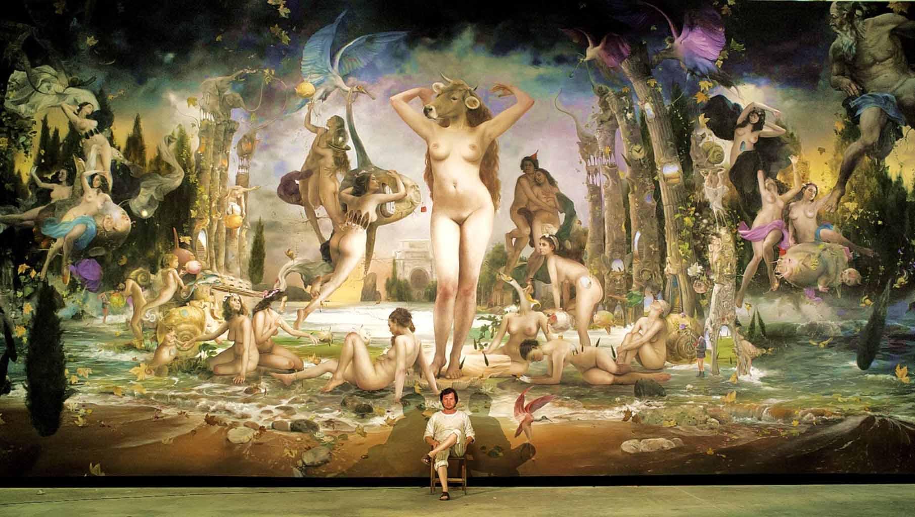 "Ким Эреу (Quim Hereu) ""The Strambotic berth of Venus"""