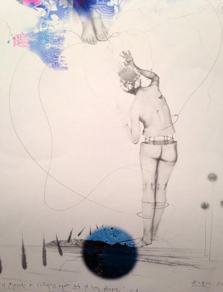 "Ким Эреу (Quim Hereu) ""The minotaur of L'Estartit playing with an incoporear being"""