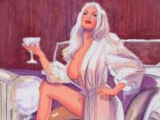 Грег Хильдебрандт (Greg Hildebrandt), Champagne Tastes study