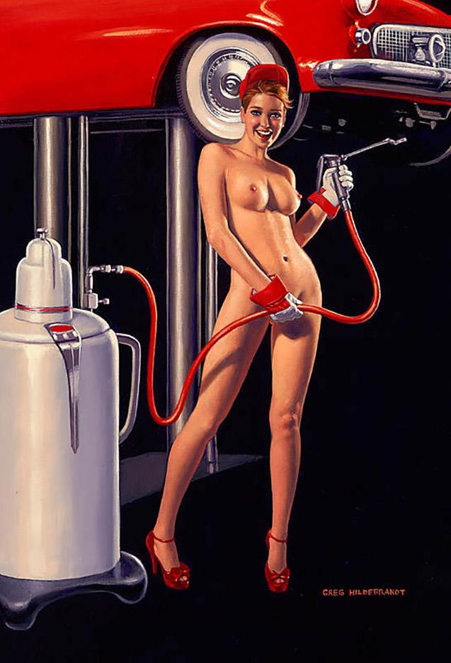 Грег Хильдебрандт (Greg Hildebrandt), Nude Lube