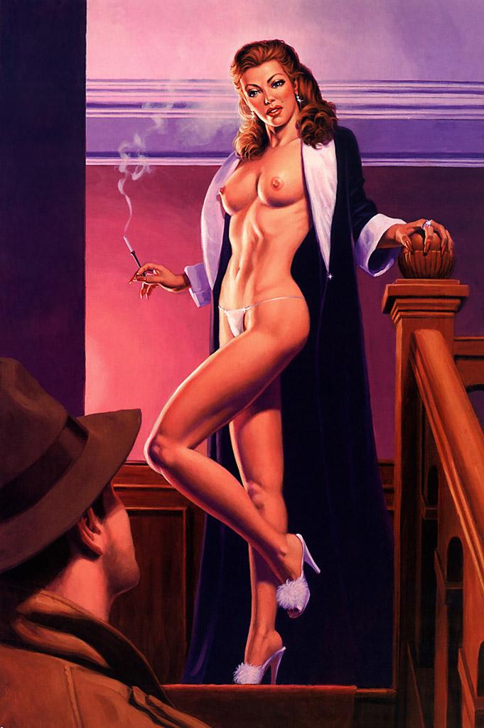 Грег Хильдебрандт (Greg Hildebrandt), Black Widow