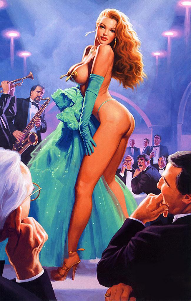 Грег Хильдебрандт (Greg Hildebrandt), Emerald Evening