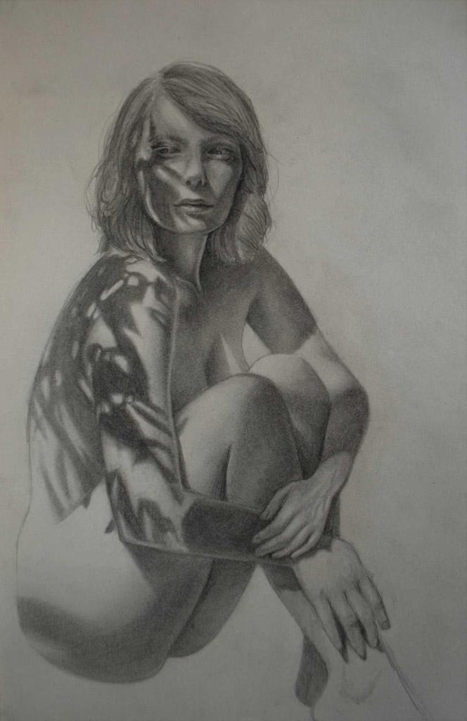 """Бронвин Хилл (Bronwyn Hill) """"Sketch - 21"""""""