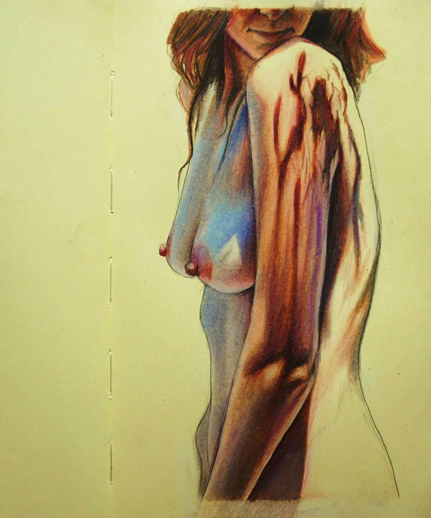 """Бронвин Хилл (Bronwyn Hill) """"Sketch - 24"""""""