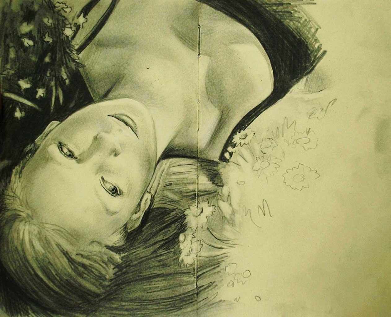 """Бронвин Хилл (Bronwyn Hill) """"Sketch - 29"""""""