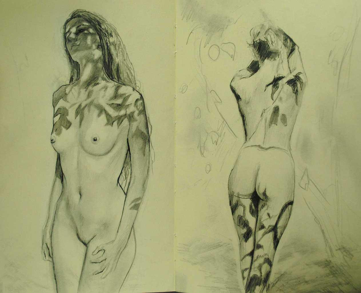 """Бронвин Хилл (Bronwyn Hill) """"Sketch - 30"""""""