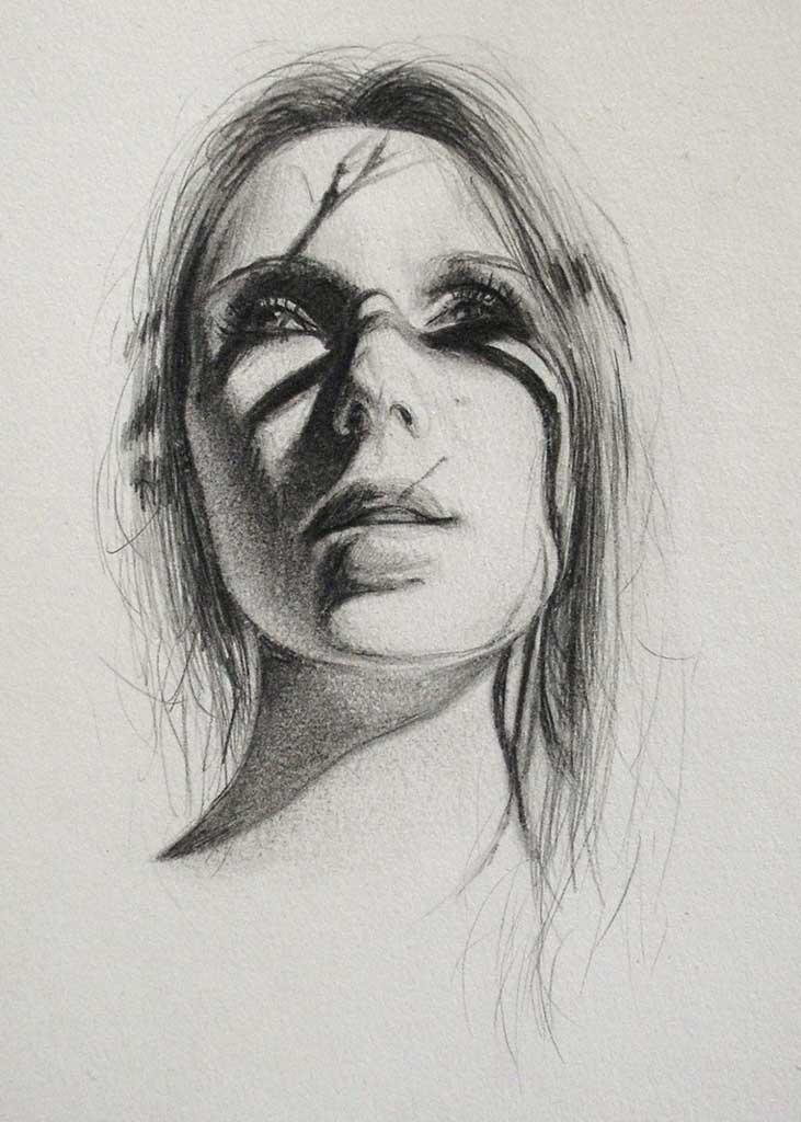 """Бронвин Хилл (Bronwyn Hill) """"Sketch - 32"""""""