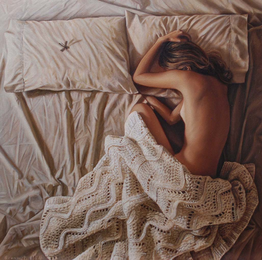 "Бронвин Хилл (Bronwyn Hill) ""Bed bugs no.1"""