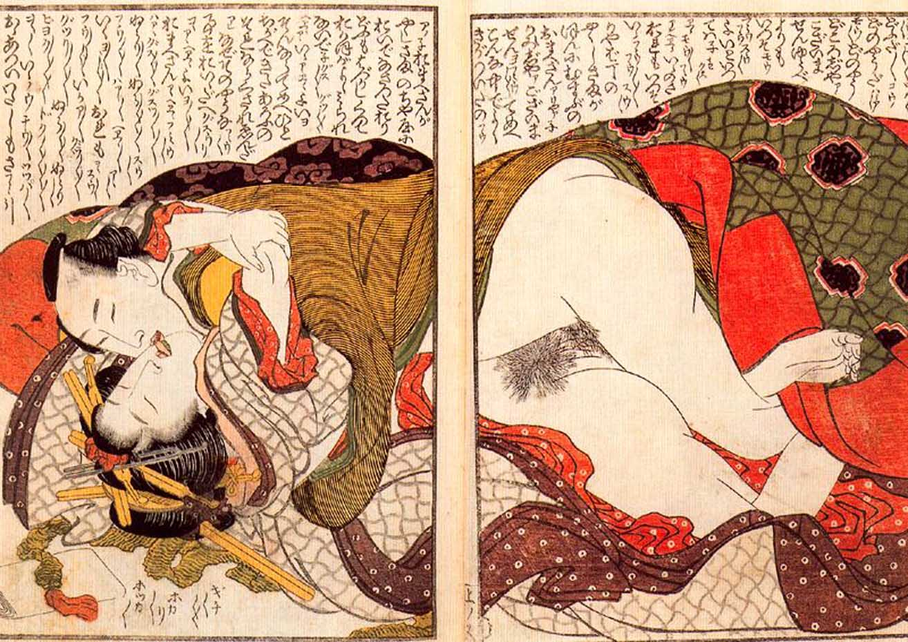 Кацусика Хокусай (Katsushika Hokusai), Shunga – 11