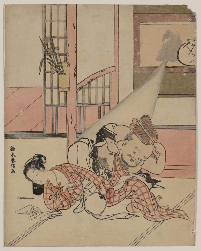 Кацусика Хокусай (Katsushika Hokusai), Shunga – 12