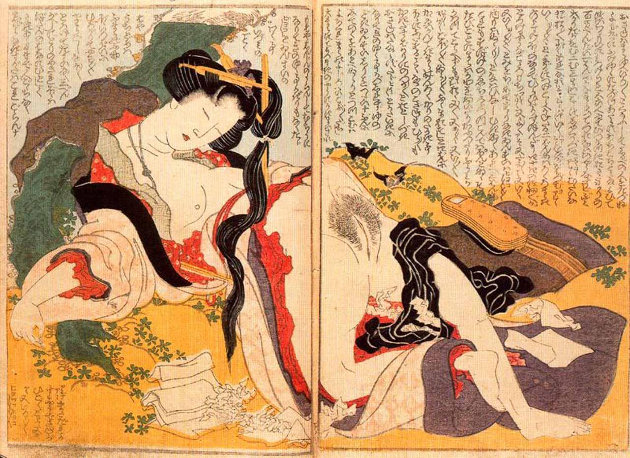 Кацусика Хокусай (Katsushika Hokusai), Shunga – 16