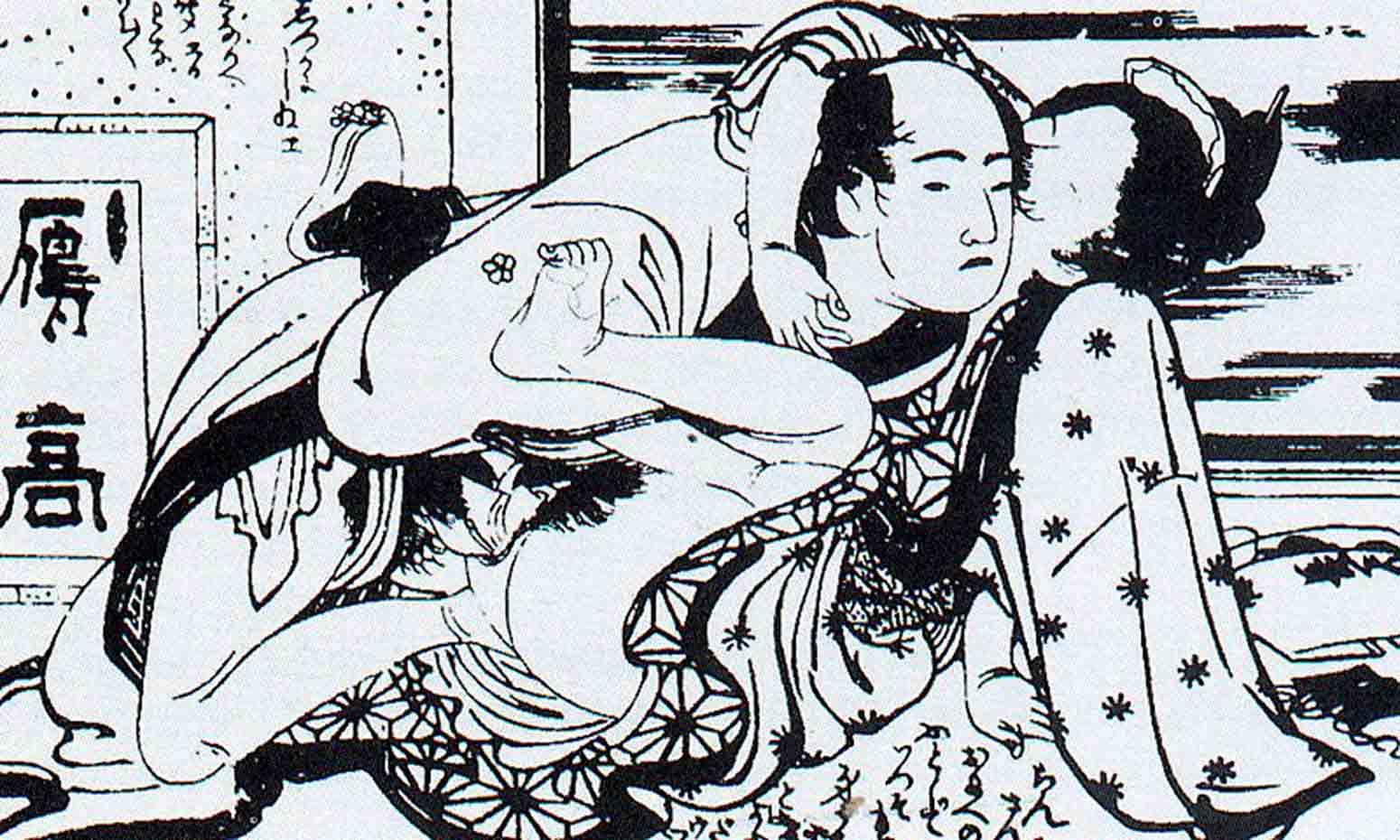 Кацусика Хокусай (Katsushika Hokusai), Shunga – 17
