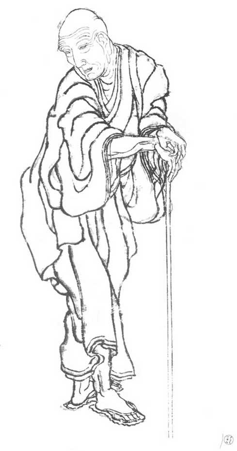 Кацусика Хокусай (Katsushika Hokusai), Автопортрет