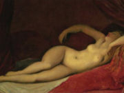 "Жан Огюст Доминик Энгр (Jean Auguste Dominique Ingres), ""Odalisque dormant"""