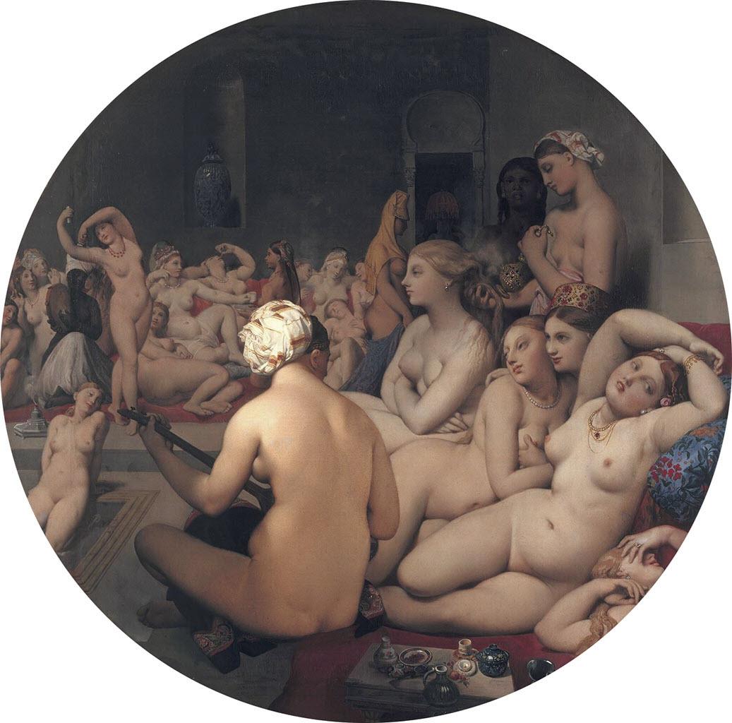"Жан Огюст Доминик Энгр (Jean Auguste Dominique Ingres), ""Турецкая баня"""