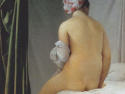 "Жан Огюст Доминик Энгр (Jean Auguste Dominique Ingres), ""Большая купальщица"""