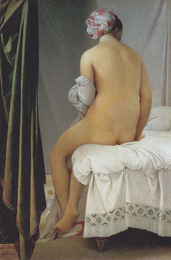 """Жан Огюст Доминик Энгр (Jean Auguste Dominique Ingres), """"Большая купальщица"""""""