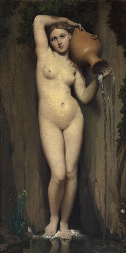 """Жан Огюст Доминик Энгр (Jean Auguste Dominique Ingres), """"Источник"""""""