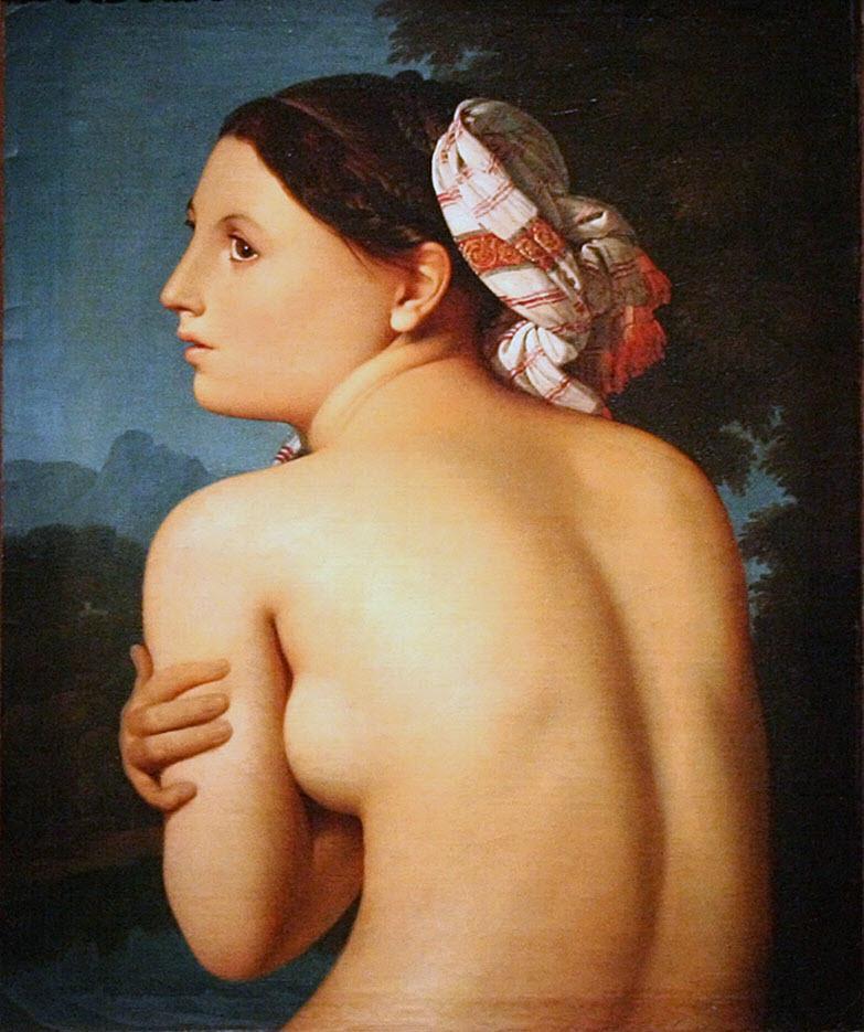 """Жан Огюст Доминик Энгр (Jean Auguste Dominique Ingres), """"Купальщица"""""""