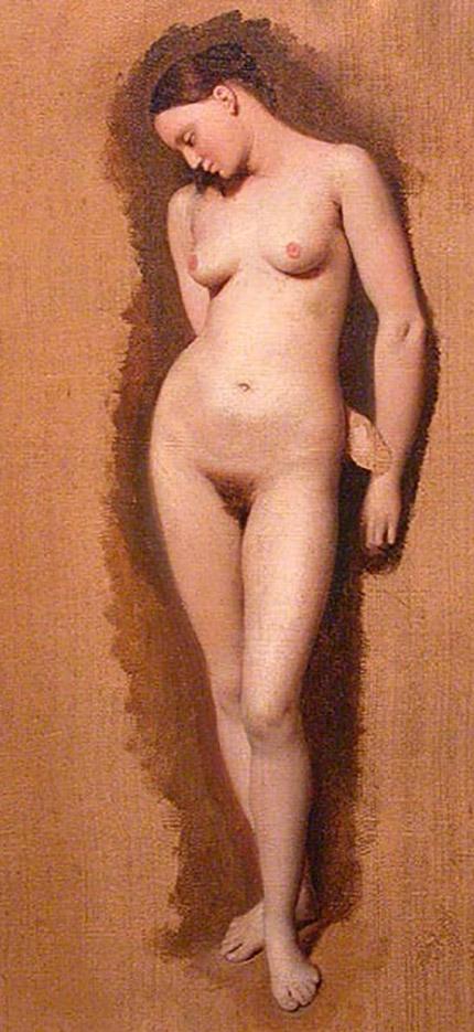 "Жан Огюст Доминик Энгр (Jean Auguste Dominique Ingres), ""Без названия - 39"""
