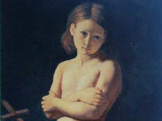 "Жан Огюст Доминик Энгр (Jean Auguste Dominique Ingres), ""John the Baptist as a child"""