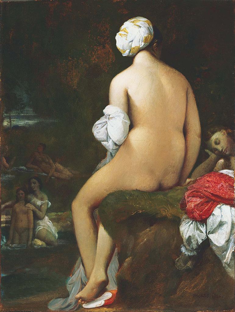 """Жан Огюст Доминик Энгр (Jean Auguste Dominique Ingres), """"The Small Bather"""""""