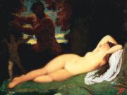"""Жан Огюст Доминик Энгр (Jean Auguste Dominique Ingres), """"Юпитер и Антиопа"""""""