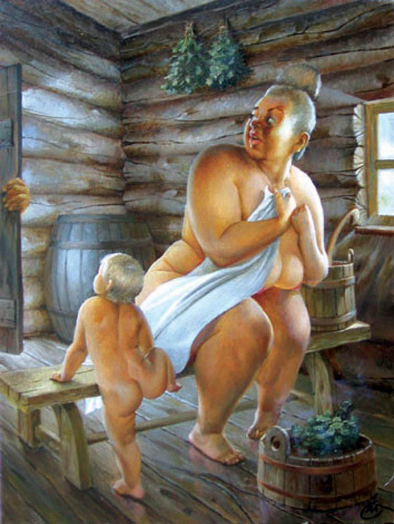 "Александр Геннадиевич Иванов (Aleksandr Gennadievich Ivanov) ""Баня | Bath"""