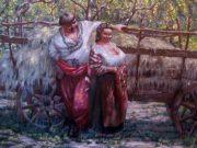 "Александр Геннадиевич Иванов (Aleksandr Gennadievich Ivanov) ""У яблуневому садочку | In the apple orchard"""