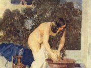 "Александр Андреевич Иванов (Alexander Ivanov) ""Bathsheba Bathing"""