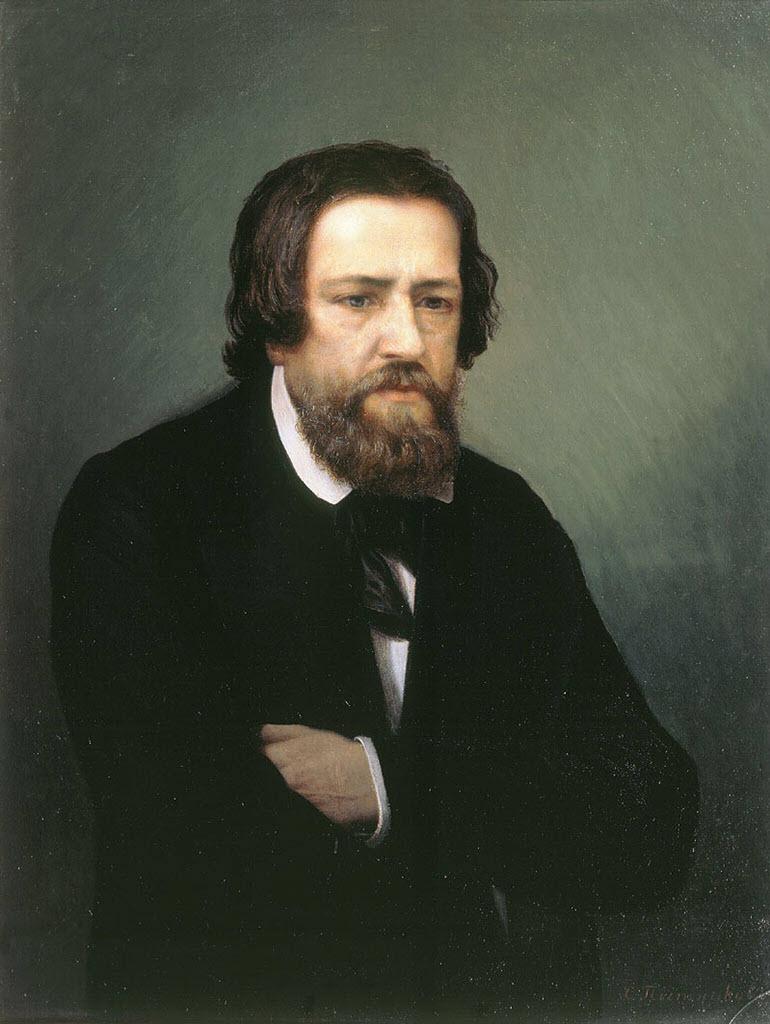 "Александр Андреевич Иванов (Alexander Ivanov) ""Портрет Александра Андреевича Иванова """