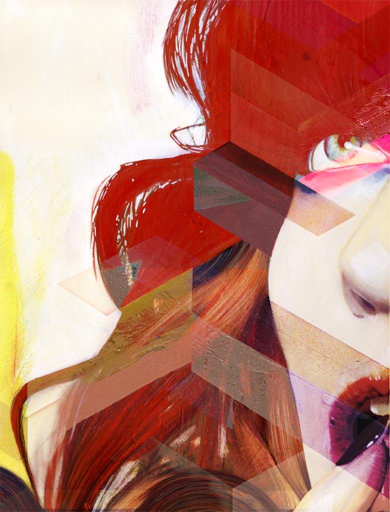 """Эрик Джонс (Erik Jones), """"Hunger Magazine Illustration 1"""""""