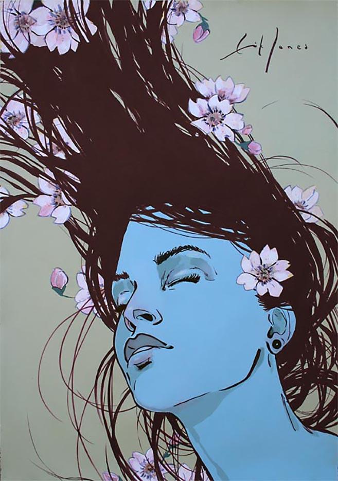 """Эрик Джонс (Erik Jones), """"Blossom"""""""
