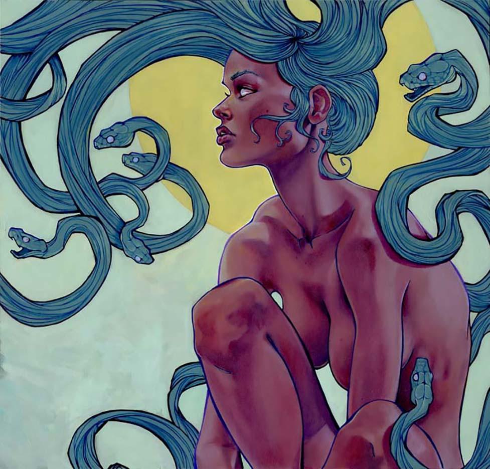 """Эрик Джонс (Erik Jones), """"Medusa"""""""