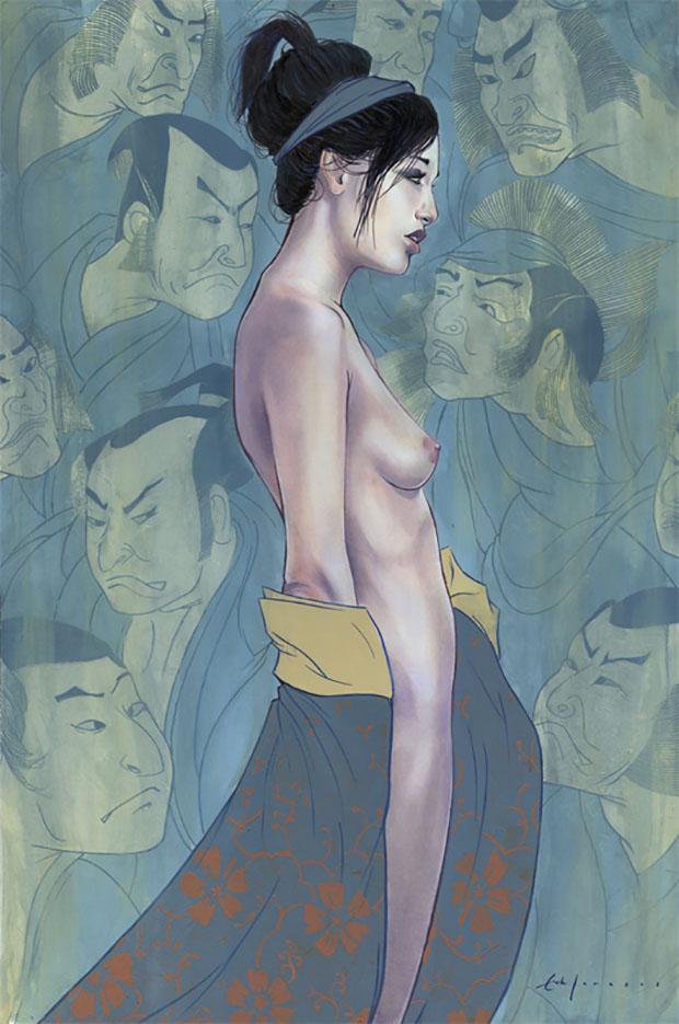 "Эрик Джонс (Erik Jones), ""Ghost and the Geisha"""
