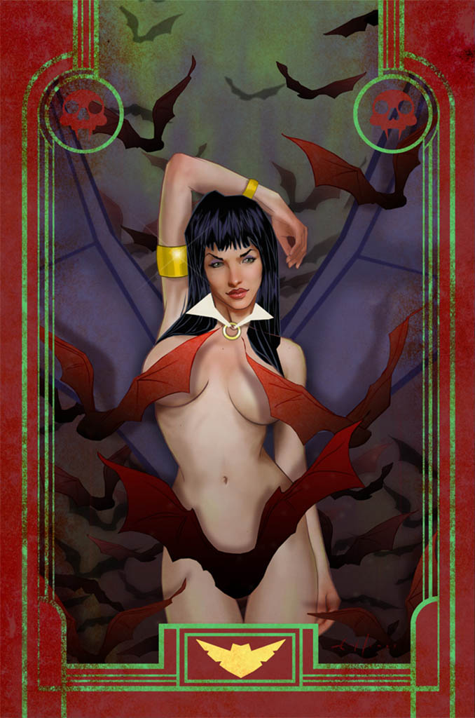 "Эрик Джонс (Erik Jones), ""Vampirella cover"""